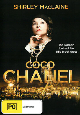 Coco Chanel DVD NEW (Region 4 Australia) Shirley MacLaine