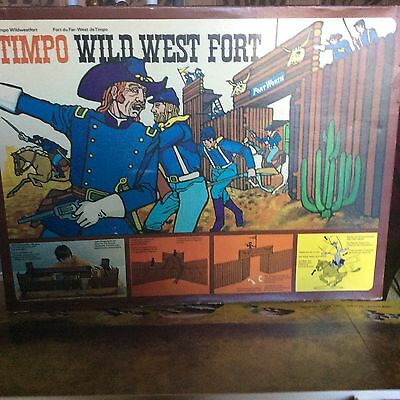 Vintage Timpo Wild West Fort Ref 259