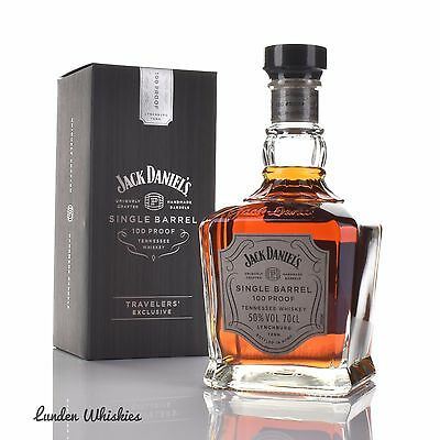 Jack Daniels Single Barrel 100 Proof Bourbon Whiskey Limited Edition Duty Free
