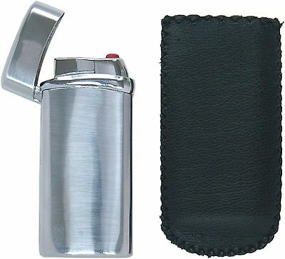 Atomic Electronic Lighter - Nizza Turbo Jet Flame Refillable Chrome Lighter