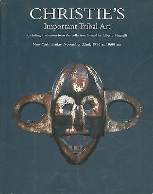 CHRISTIE'S TRIBAL ART OCEANIC AFRICAN WOA Magnelli Collection Catalog 1996
