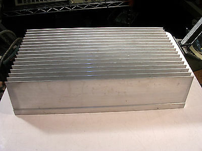 "Heavy Aluminum Heat Sink  5/8"" Base  2.75"" Fins Nice Used"