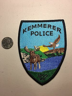 Kemmerer Wyoming Police Department Patch Wy