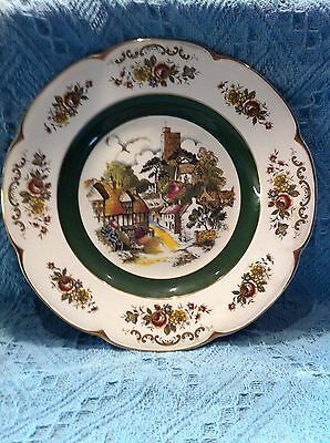 Nos Princess House Ascot Service Plate By Wood And Sons English Village Plate