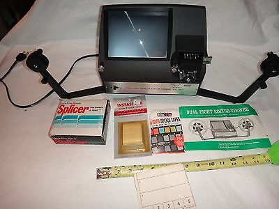 San-Star Dual-8 Editor Viewer Model 2810 and accessories