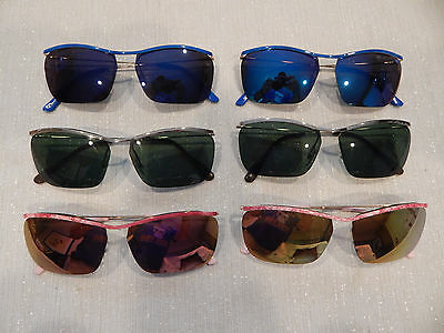 6 Pc. Girard 3070 Assorted Colors Ladies Sunglasses Frame Lot NOS lot#148