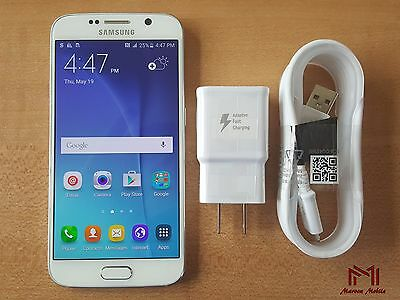 Samsung Galaxy S6 | T-Mobile | Grade B | Factory Unlocked | White Pearl |