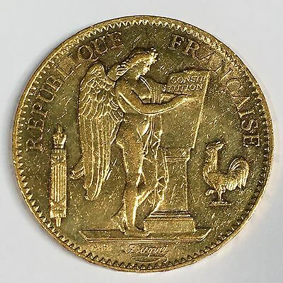 1904-A Republic of FRANCE 100 Francs Gold - High Quality Scans #C847