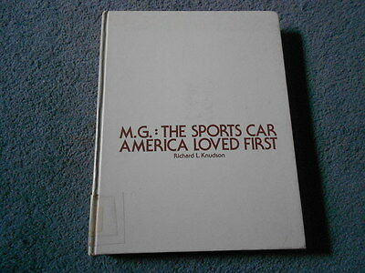 1975 MG THE SPORTS CAR AMERICA LOVED FIRST by KNUDSON MGB MIDGET ADS HISTORY MGA
