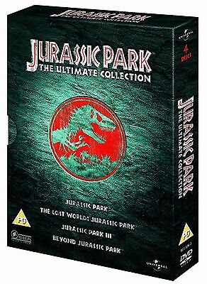 Jurassic Park 1 2 3 : The Ultimate Collection 4 DVD Boxset
