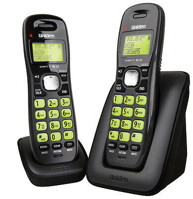 Uniden DECT Digital Cordless Phone System - DECT-1615+1 with 12 months Warranty
