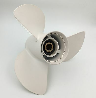 Aluminum Outboard Propeller 13 1/2x15 for Yamaha 50-130HP 6E5-45947-00-EL