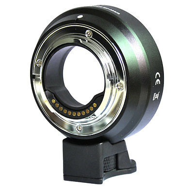 M4/3 Mount Adapter for Canon EF EF-S Lens to Micro 4/3 Panasonic GF1 GF2 GH4 GH5
