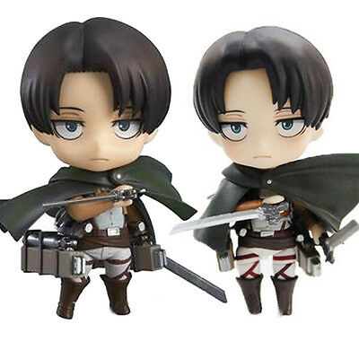 Shingeki No Kyojin Attack On Titan Levi Anime Action Figure Toy Figurines Gifts