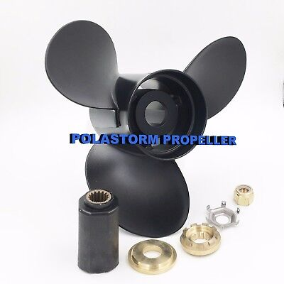 Aluminum Outboard Propeller 14 1/4x21 for Mercury 135-300HP 48-832832A45