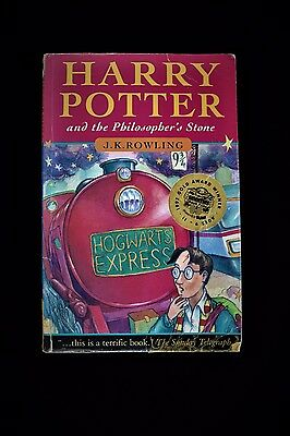 1st Edition Harry Potter And The Philosophers Stone 10 9