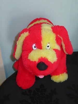 Large Doodles the Dog From The Tweenies soft plush toy. 12 inches long. 2001
