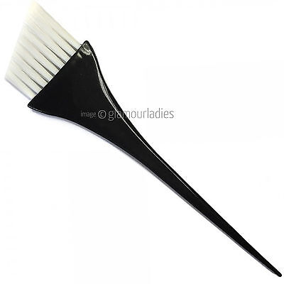 Hair Tools Professional Black Angled Balayage Hair Tint Brush Salon Quality