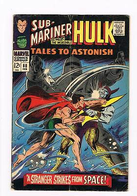 Tales to Astonish # 88 Stranger Strikes From Space  grade 4.0 scarce book !!