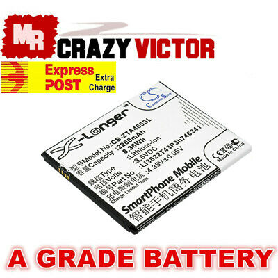 Replacement Battery for ZTE Blade A465 A475 Telstra 4GX HD Battery