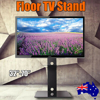 """New Floor TV Stand Universal TV Stand Pedestal Base Wall Mount for 32-70"""" TVS OZ"""
