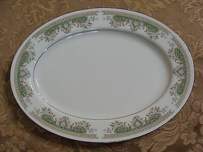 Vintage Crescent China By Ranmaru Platter, Alberta #5788, Made In Japan