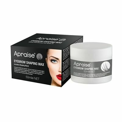 APRAISE Eyebrow Shaping Wax (Clear) Professional Defining & Fixing Make Up 50ml