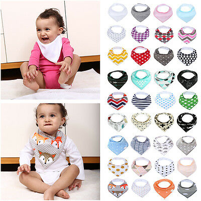 MSDS Girls Boys Infant Cotton Scarves Caps Newborn Scarf Cute Triangle Baby Bibs