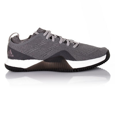 detailed pictures 02fce f8197 Adidas Crazy Train Elite Womens Grey Sneakers Gym Sports Shoes Trainers