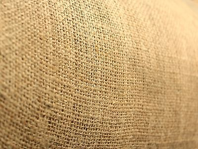 Hessian Fabric Natural Jute Burlap-Craft Sacking Upholstery Wedding 80/60cm wide