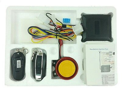 Security Alarm System Remote Control 12V Anti-theft Jonway Scooter Motorcycle