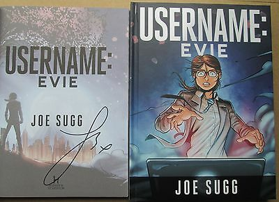 Username: Evie by Joe Sugg-SIGNED BOOK (Hardback, 2015)