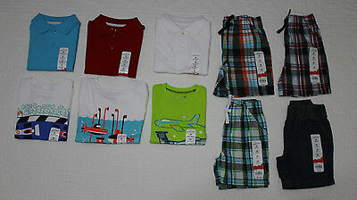 New Boys Jumping Beans Polo Shirt, Tee Shirt, Shorts Various Sizes & Colors Nwt