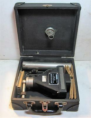 Vintage Davey Vibrometer - Vibroscope With Original Case SN# 1C 1669 (Untested)