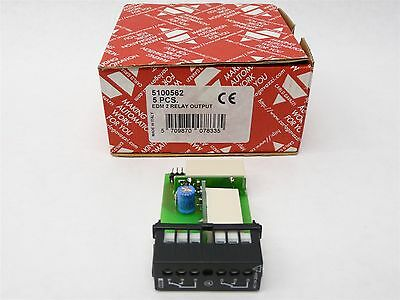 New In Box Carlo Gavazzi 5100562 Input Module Edm 2 Relay Output Vdc 5 Pcs