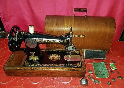 Antica macchina da cucire Singer 15k del 1928 old sewing machine