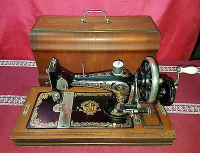 Antica macchina per cucire Frister & Rossmann del 1930' old sewing machine