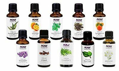 NOW Foods Essential Oils and Blend Oils - Assortment of Scents, 1 Oz.
