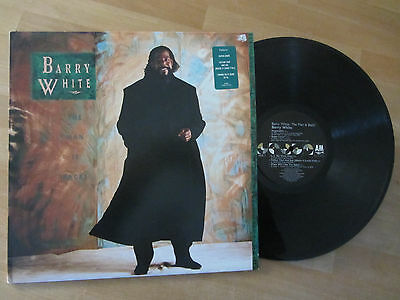 Barry White ~ Barry White : The Man Is Back ! ~ N/m 1989 R&b Soul Lp