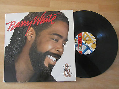 """Barry White ~ The Right Night And Barry White ~ N/m 1987 Soul Lp """"sho You Right"""""""