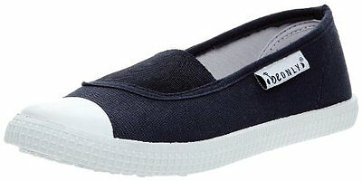 (TG. 37) Blu (Marine) Be Only Canvas Buzz Elastique, Ballerine donna, Blu (Marin