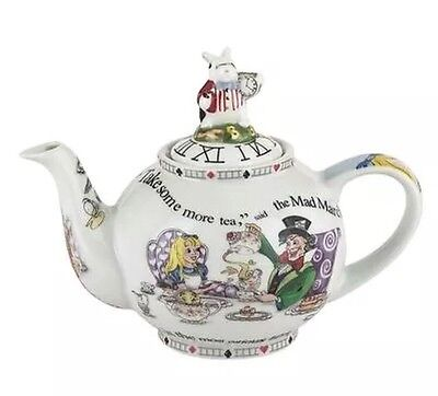 Cardew Design Alice in Wonderland 2-Cup Teapot, 18-Ounce, New In Box
