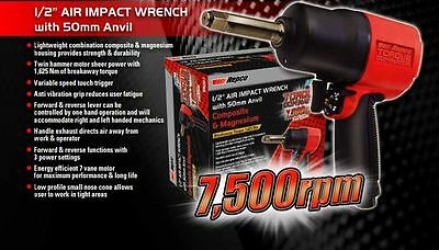 """NEW Repco 1/2"""" AIR IMPACT WRENCH with 50mm Anvil RIW260-2"""