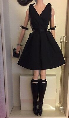 Barbie Silkstone Little Black Dress & Boots Outfit Only No Doll