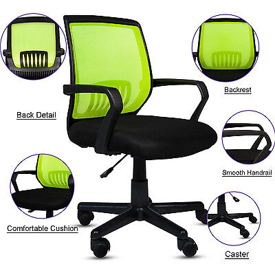 Ergonomic Mid-back Mesh Office Computer Chair Desk Task Executive Chair Swivel