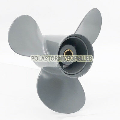 Aluminum Outboard Propeller 9 7/8x11Pitch for HONDA 25-30HP