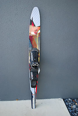 "HO 68"" Mach 1 Slalom Water Ski with Attack Boot 10-14 & Adjustable RTP - NEW"