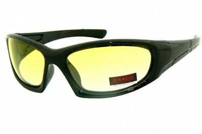 Night Driving vision HD Glasses Prevention Yellow Driver Sunglasses polarized TR