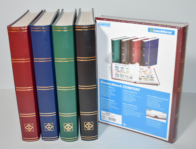 Large A4 Stockbook 64 White Pages made by Lighthouse