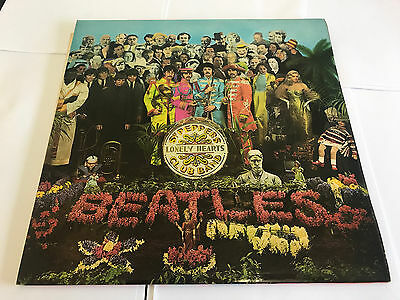 The Beatles SGT. PEPPER'S LONELY HEARTS CLUB BAND GF LP 1967 PARLOPHONE PCS7027